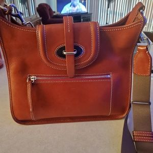Dooney and Bourke Florentine Saddle Bag